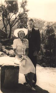 1944 Wedding Day
